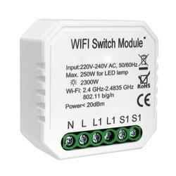 Przekaźnik dopuszkowy 1 kanał WiFi TUYA LN